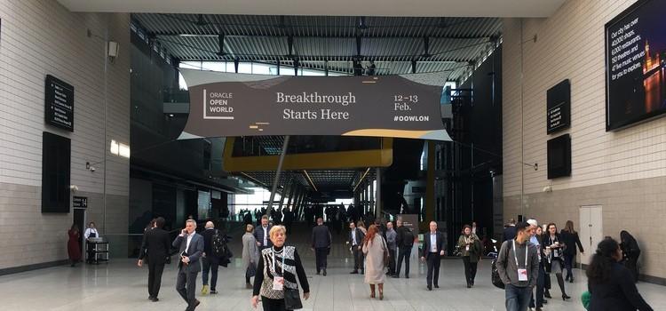 Oracle Open World London 12 Feb 2020