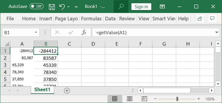 How to Convert Text Number to Values in Excel