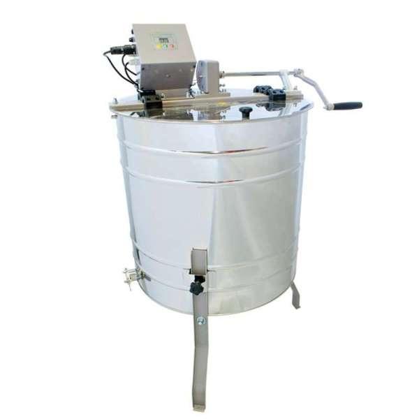 Smielatore tangenziali, Ø600mm, 4 telai azionamento manuale + elettrico, OPTIMA Lyson
