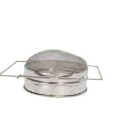 Filtro singolo inox convesso, Ø 20,5 cm per miele