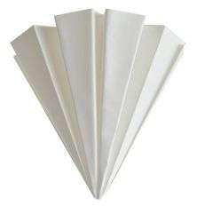 Filtro pieghettato di carta per propoli