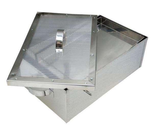 Sceratrice solare con supporto 36x63xh22 Lyson