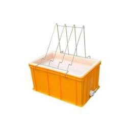Banco per disopercolare in plastica, altezza 30 cm, con leggio
