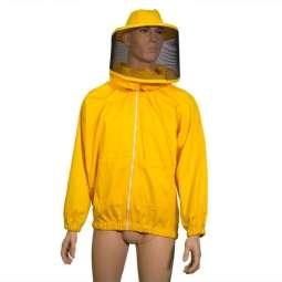Camiciotto con maschera rotonda gialla a salsicciotto