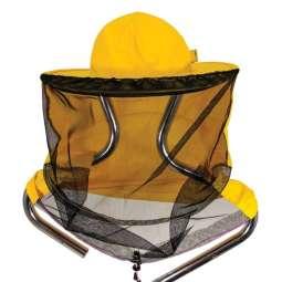 Cappello apicoltore con rete staccabile