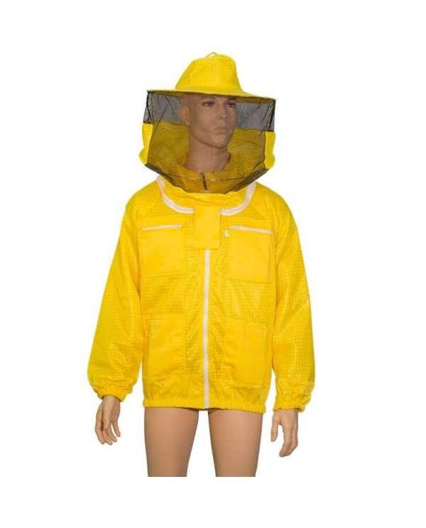 Camiciotto traforato air tech, cappello rotondo, taglia XL