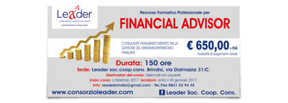 Percorso professionale per Financial Advisor