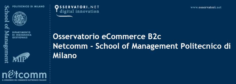 L'eCommerce B2C in Italia supererà i 31,5 miliardi di € nel 2019