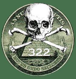 Crânio Ossos Illuminati