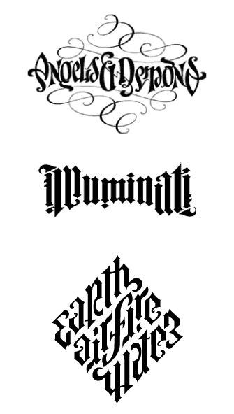 Illuminati Angels and Demons