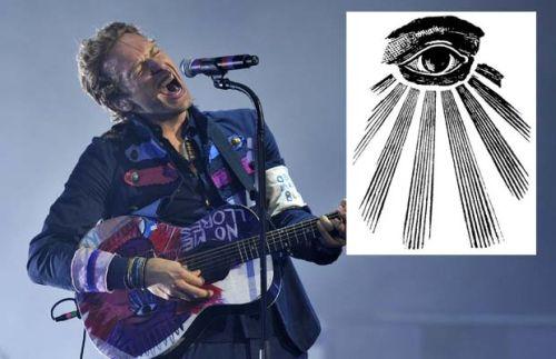 Chris Martin All Seeing Eye Guitar