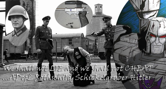 Megatron Hilter Nazi