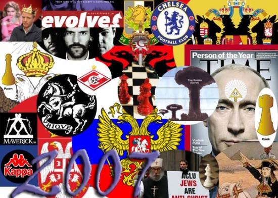Vladimir Putin Man Year 2007