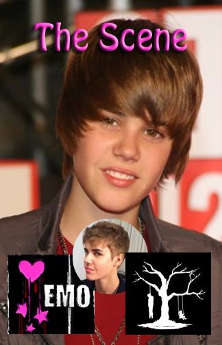 Justin Bieber - Emo Haircut