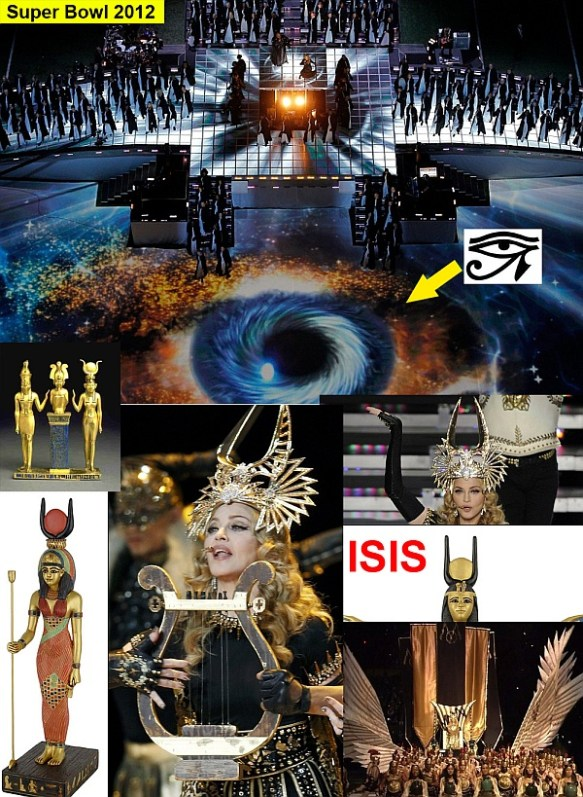 Madonna Eye Horus