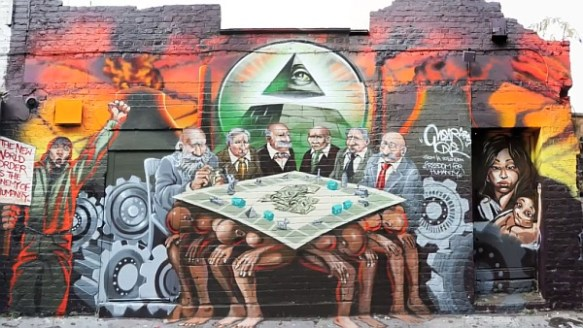New World Order Mural