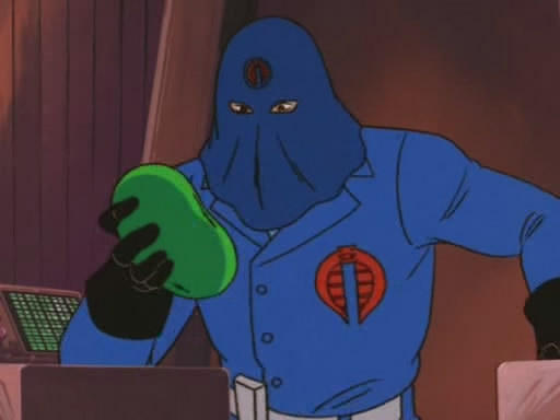 Cobra Commander Bean
