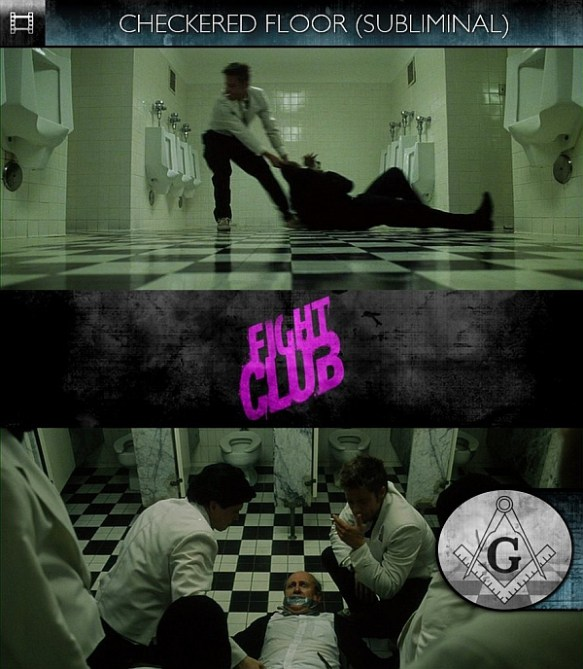 Fight Club Masonic Floor
