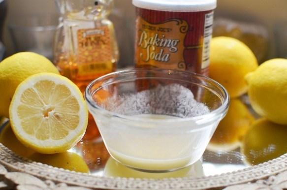 Lemon Baking Soda