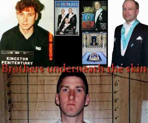 Brothers Mcveigh, Breivik, Bernardo