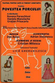 Povestea porcului -Teatrul pentru Copii si Tineret Calutul de Mare