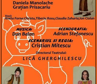 Povestea porcului - Teatrul pentru Copii si Tineret Calutul de Mare