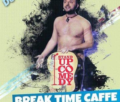Stand-up comedy cu Marius Gheorghiu! la Break Time Caffe
