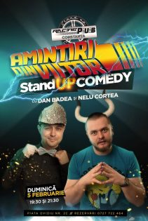 Stand-up Comedy - Amintiri din viitor cu Dan Badea si Nelu Cortea la Racing Pub Constanta