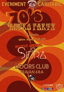 Eveniment caritabil 70's Retro Party la Doors Club Constanta