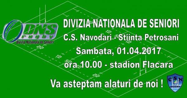 Rugby CS Navodari-Stiinta Petrosani la Stadionul Flacara Navodari