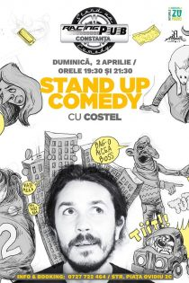 Stand-up Comedy cu Costel -Racing Pub Constanta