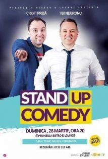 Stand-up Comedy cu Cristi Priza & Tibi Neuronu la Peninsula Bistro&Lounge