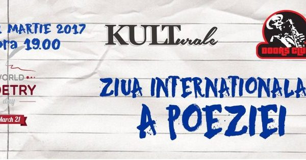 Ziua Internationala a Poeziei la Doors Club