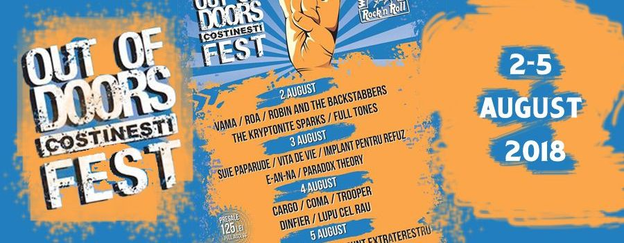 Out of Doors Fest 2018