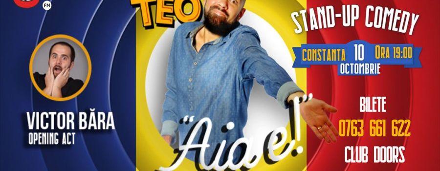 Stand up comedy cu Teo