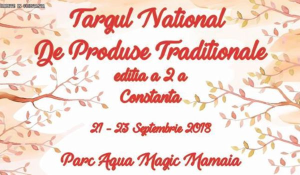 Targ National de Produse Traditionale 2018