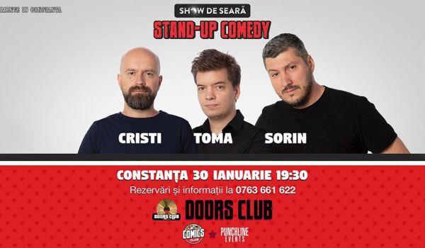 Stand up comedy cu Cristi, Toma, Sorin