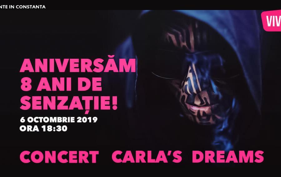 concert Carla's Dreams Constanta