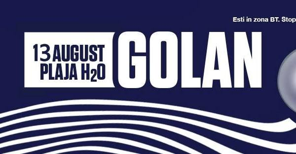 GOLAN Live @PlajaH2O