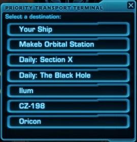 Travel Terminal Destinations