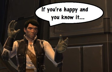 SWTOR Horizontal Progression Dream