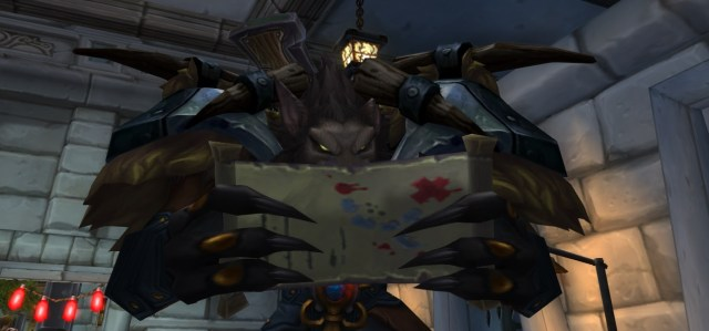 worgen reading guide