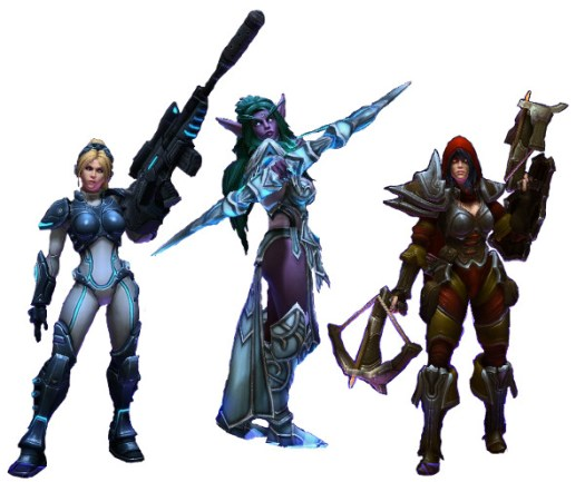 heroes of the storm females