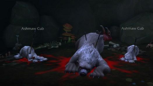 ashmaw cub den