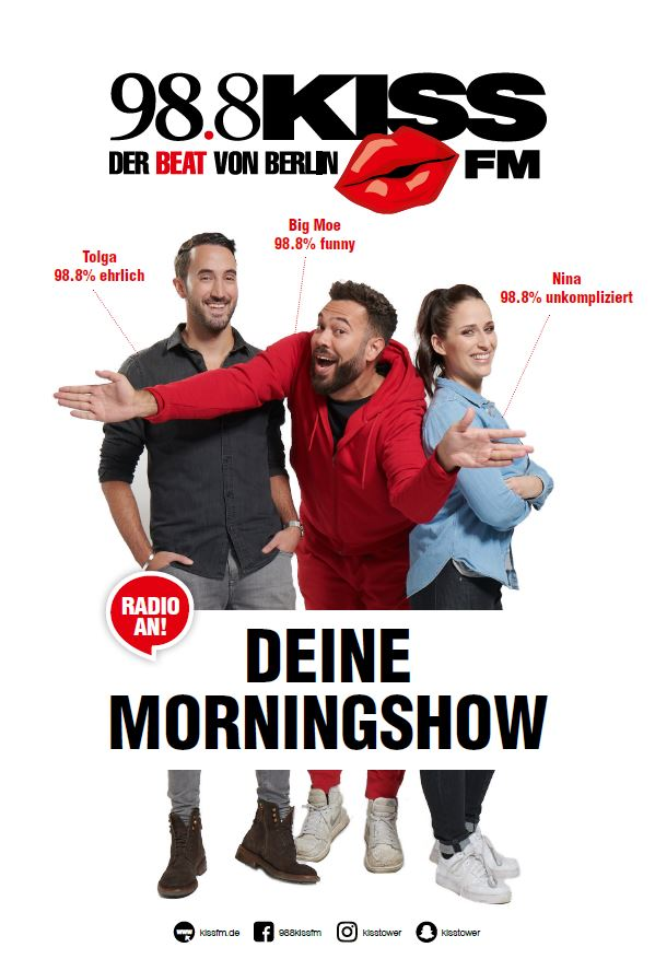 Kiss FM Deine Morningshow
