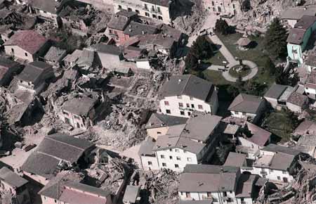 Terremoto de Aquila, Itália, 2009