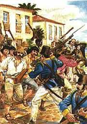 Revoltas marcaram a pós-independência