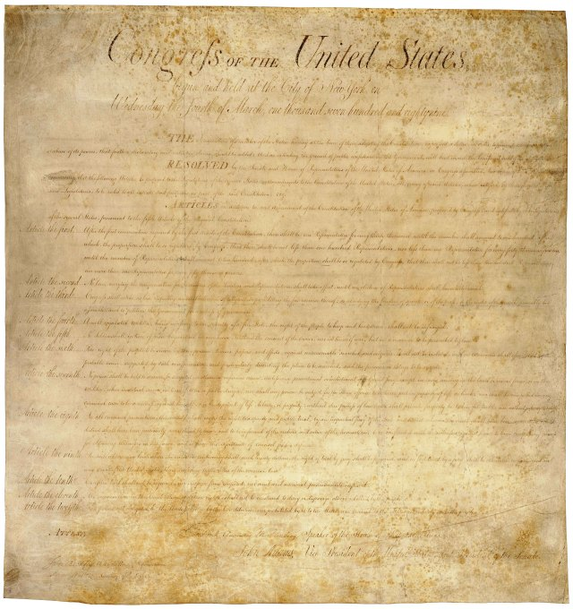The United States Constitution - The Amendments in History