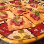 tuna tartar constrained gourmet