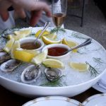 Oysters constrained gourmet